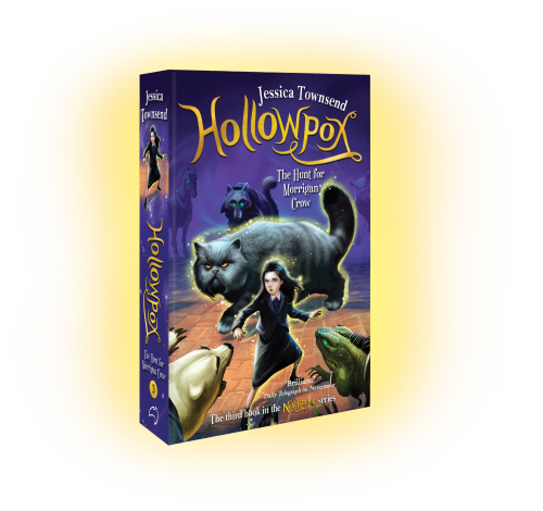 3D image of book: Hollowpox by Jessica Townsend